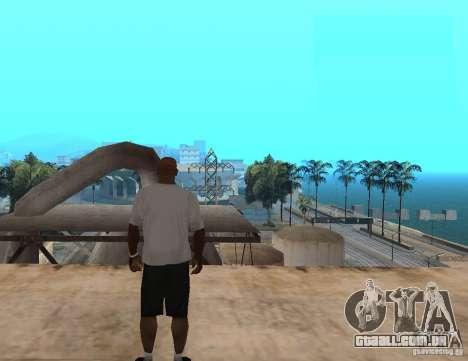 T-shirt WWE RKO para GTA San Andreas segunda tela