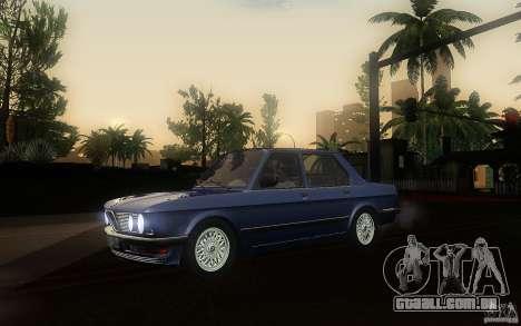 BMW E28 525e ShadowLine Stock para GTA San Andreas