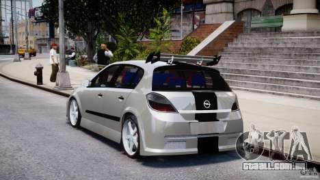 Opel Astra 1.9 TDI 2007 para GTA 4 traseira esquerda vista
