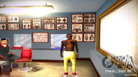 Três nova tatuagem para GTA San Andreas sexta tela