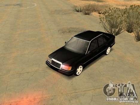 Mercedes-Benz E250 V1.0 para GTA San Andreas vista interior