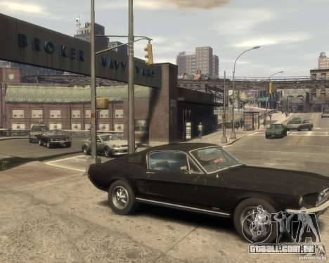 1967 Ford Mustang para GTA 4 vista direita