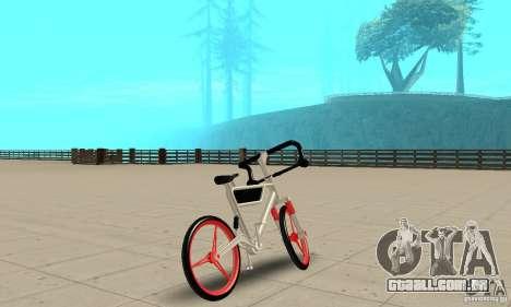 Wind Solar MT Bike para GTA San Andreas esquerda vista