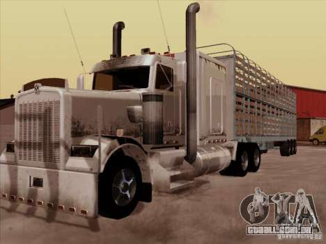 Kenworth W 900 RoadTrain para GTA San Andreas