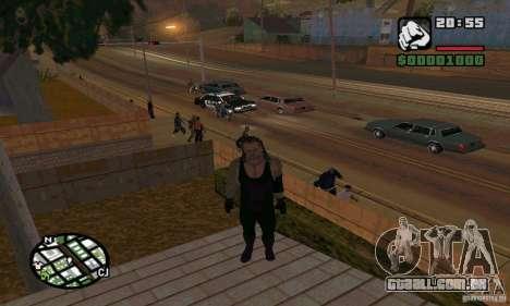 O coveiro da Smackdown 2 para GTA San Andreas sexta tela