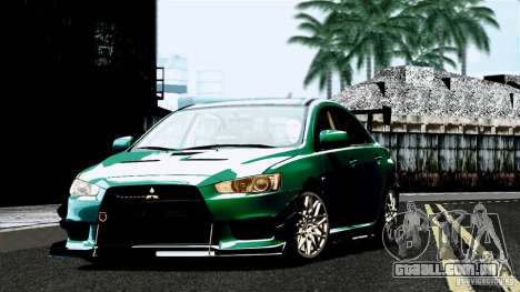 ENB By Wondo para GTA San Andreas sexta tela
