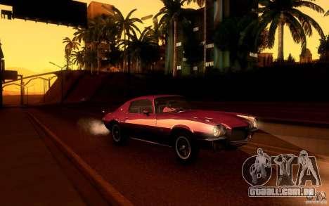 Chevrolet Camaro Z28 para as rodas de GTA San Andreas