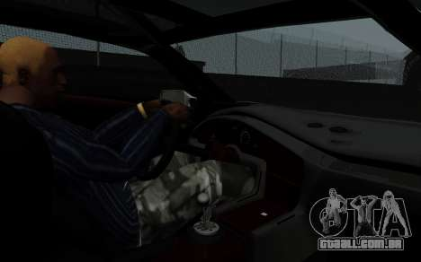 Lamborghini Diablo GTR TT Black Revel para GTA San Andreas vista traseira