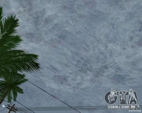 Nuvens de novas para GTA San Andreas sexta tela