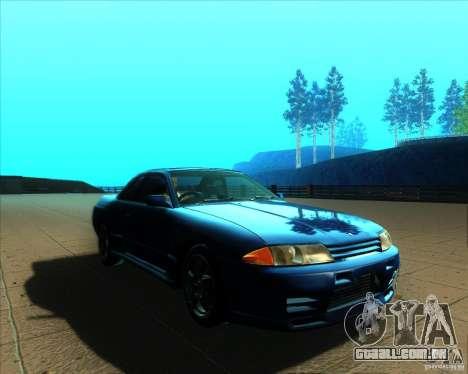 Nissan Skyline GT-R R32 1993 Tunable para GTA San Andreas vista superior