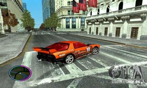 Mazda RX-7 FC for Drag para GTA San Andreas vista direita