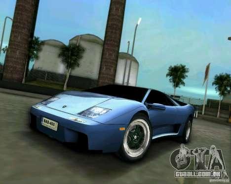 Lamborghini Diablo para GTA Vice City