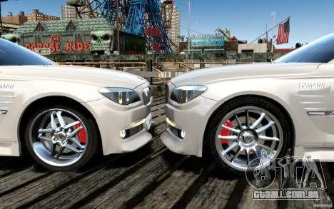 Telas de menu e arranque BMW HAMANN no GTA 4 para GTA San Andreas décimo tela
