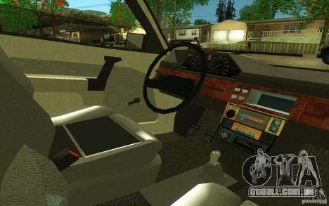 2141 AZLK v 2.0 para GTA San Andreas vista traseira