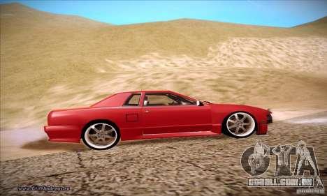 Elegy 180SX para GTA San Andreas vista traseira