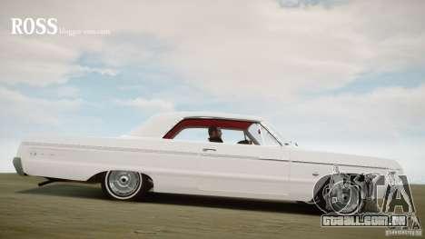 Chevrolet Impala SS 1964 para GTA 4 esquerda vista