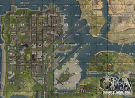 Mapa de San Andreas com atualização v7 para GTA San Andreas terceira tela