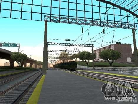 Rede de contactos para GTA San Andreas sétima tela