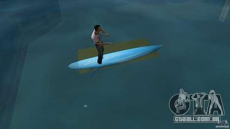 Surfboard 3 para GTA Vice City vista traseira esquerda