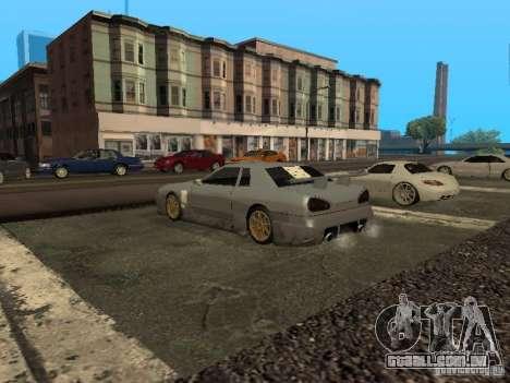 Elegia padrão para GTA San Andreas vista interior