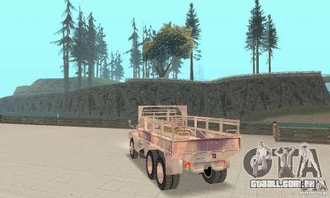 M352A 1986 para GTA San Andreas esquerda vista
