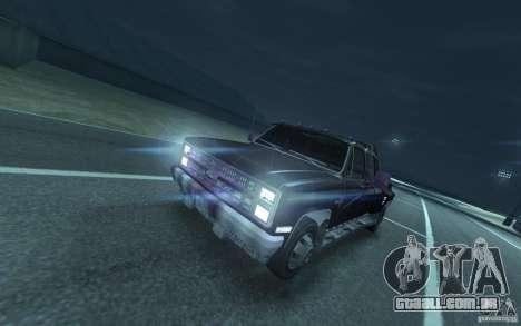 Chevrolet Silverado para GTA 4 esquerda vista