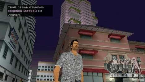 Caminhando para GTA Vice City terceira tela
