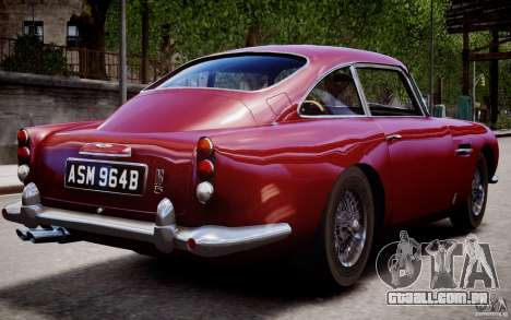 Aston Martin DB5 1964 para GTA 4 interior