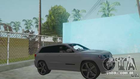Jeep Grand Cherokee SRT8 2013 para GTA San Andreas
