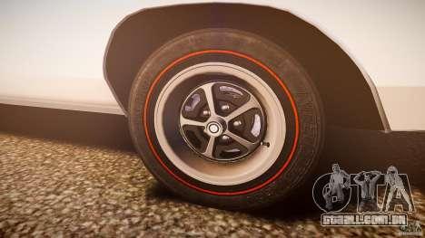Dodge Charger RT 1969 v1.0 para GTA 4 vista inferior