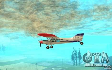 Maule Orion para GTA San Andreas traseira esquerda vista