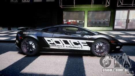 Lamborghini Gallardo LP570-4 Superleggera 2011 para GTA 4 vista lateral