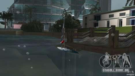Windsurf para GTA Vice City vista traseira esquerda