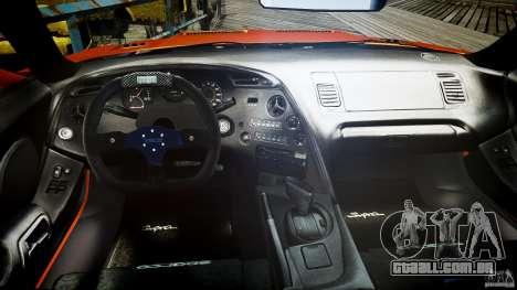Toyota Supra MK4 Tunable v1.0 para GTA 4 vista direita