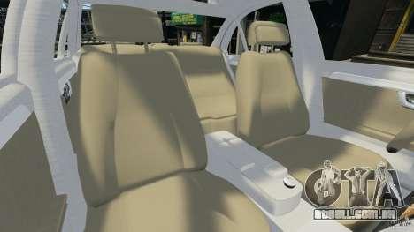 Mercedes-Benz C350 Avantgarde v2.0 para GTA 4 vista interior
