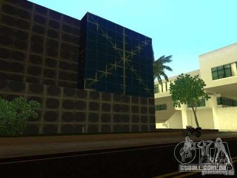 Novo edifício em LS para GTA San Andreas por diante tela
