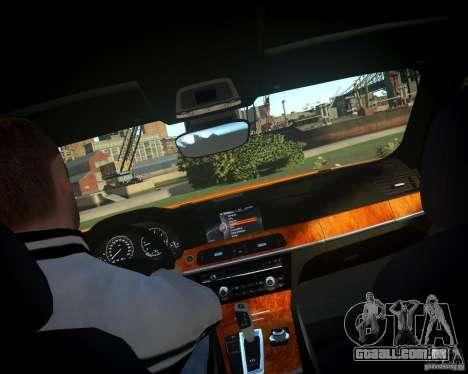 BMW 750Li  2010 para GTA 4 vista lateral