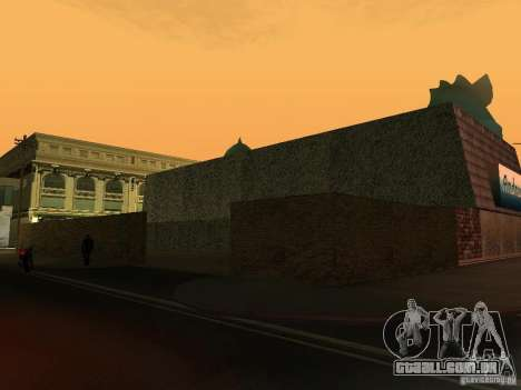Cafe de Andreas para GTA San Andreas terceira tela