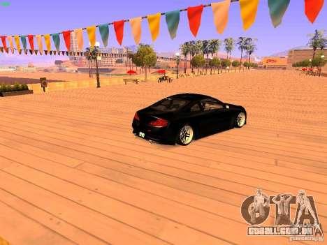 Infiniti G35 V.I.P para GTA San Andreas esquerda vista