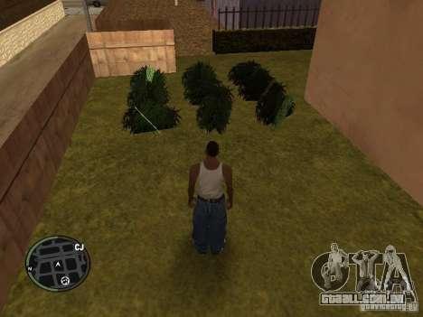Maconha v2 para GTA San Andreas sexta tela