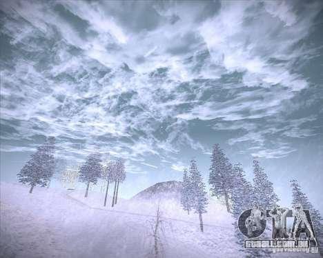 Real Clouds HD para GTA San Andreas sexta tela