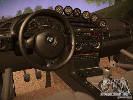 BMW M3 E36 para GTA San Andreas vista direita