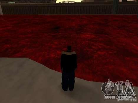 Lava para GTA San Andreas por diante tela