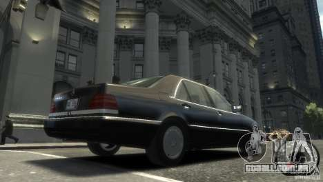 Mercedes-Benz 600SEL wheel2 non-tinted para GTA 4 traseira esquerda vista