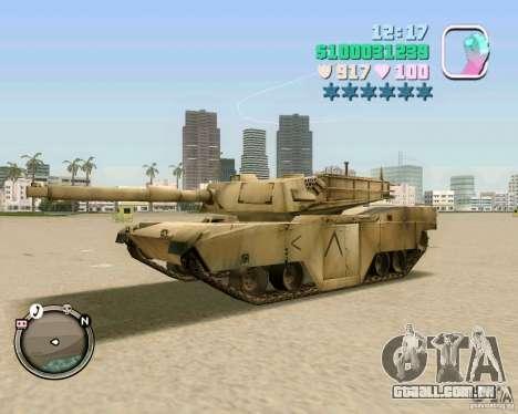 M 1 A2 Abrams para GTA Vice City