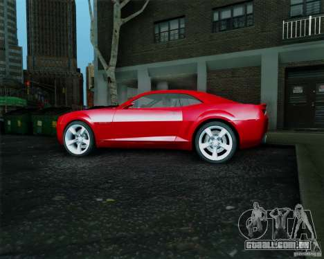 Chevrolet Camaro 2007 para GTA San Andreas vista direita