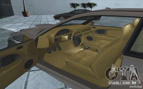 Sentinela do GTA 4 para GTA San Andreas vista traseira