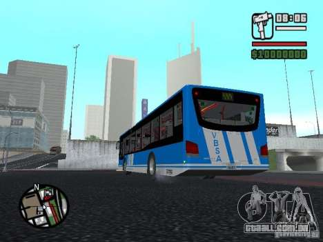 Design-X4-Dreamer para GTA San Andreas traseira esquerda vista