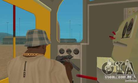 RS3 Locomotiva Diesel Union Pacific para GTA San Andreas vista direita