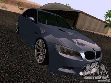 BMW M3 E90 Sedan 2009 para GTA San Andreas